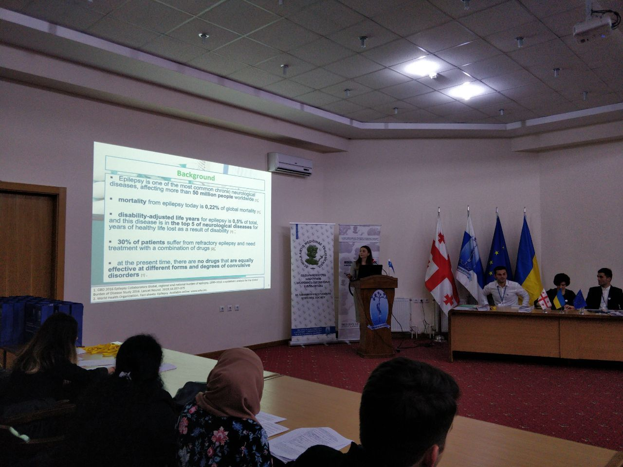 81st Scientific and Practical Conference, Tbilisi